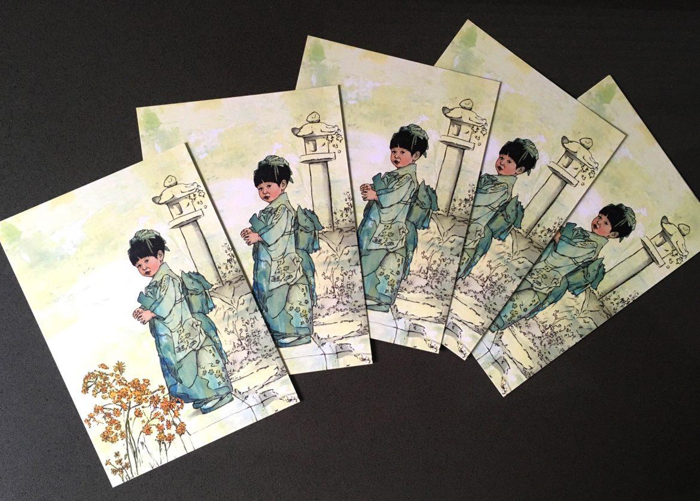 GalleryA_kiyoko_postcardsx5