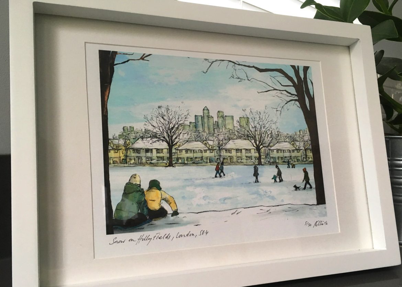 GalleryA_snowhillyfields_framed