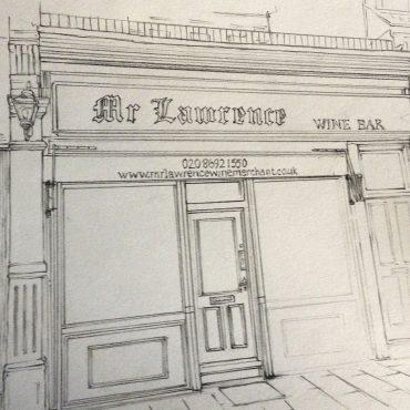 Mr Lawrence Sketch